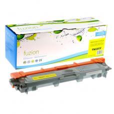Compatible Brother TN-225Y Toner Jaune Fuzion (HD)