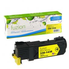 Compatible Dell 2130cn Toner Jaune  Fuzion (HD)