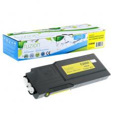 Compatible Dell C2660DN Toner Jaune Fuzion (HD)