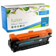 Recyclée HP CE251A (504A) Toner Cyan Fuzion (HD)