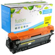 Recyclée HP CE252A (504A) Toner Jaune Fuzion (HD)