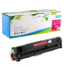 Réusinée HP CB543A (125A) Toner Magenta Fuzion (HD)