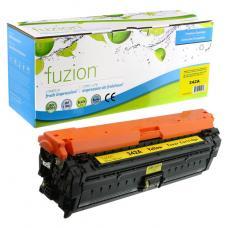 Recyclée HP CE342A (651A) Toner Jaune Fuzion (HD)