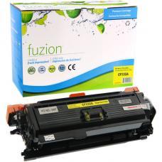 Compatible HP CF332A Toner Jaune Fuzion (HD)