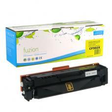 Compatible HP CF502X (202X) Toner Jaune Fuzion (HD)