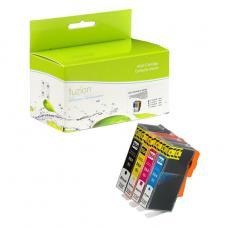 Compatible HP564XL Ensemble de 4 couleurs Fuzion (HD)