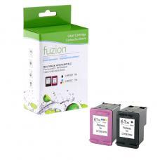 Recyclée HP61 XL Noir & Couleur Fuzion (HD)