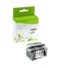 Recyclée HP63 XL, Noir Fuzion (HD) Avec niveaux d'encre