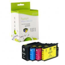 Compatible HP932XL / HP933XL Ensemble de 4 couleurs Fuzion (HD)