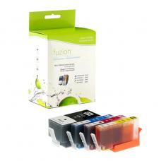 Compatible HP934XL / HP935XL Ensemble de 4 couleurs Fuzion (HD)